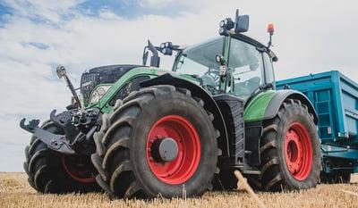 préponderance des pneus de tracteur agricole